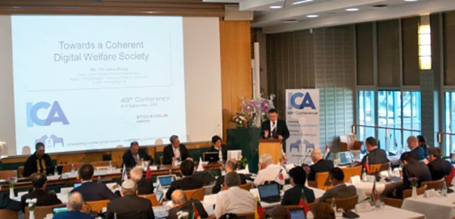 CIO:s from 25 nations gathered at the 49th ICA conference in Stockholm.